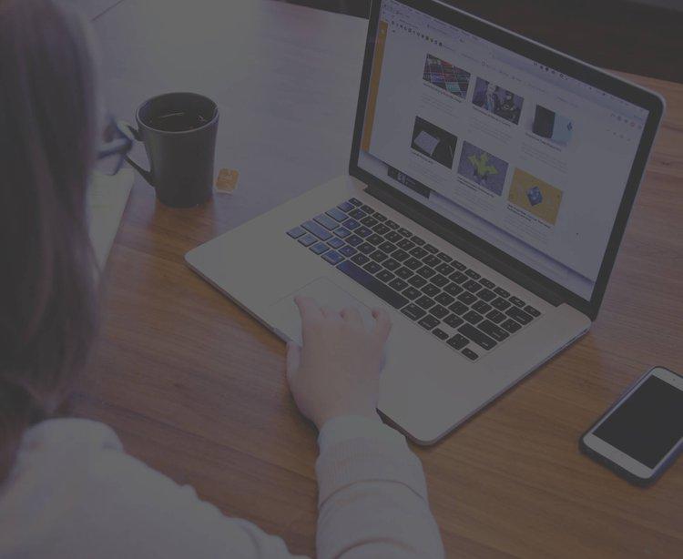Headerbild Dienstleistung Corporate Websites und Portale