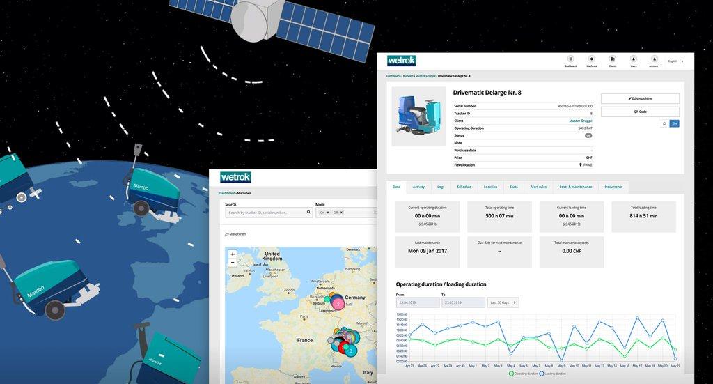Headerbild Fallstudie Wetrok Connect iOT App