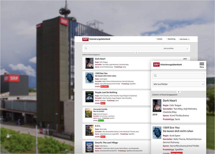 Headerbild Fallstudie SRF Fise Applikation Neuentwicklung